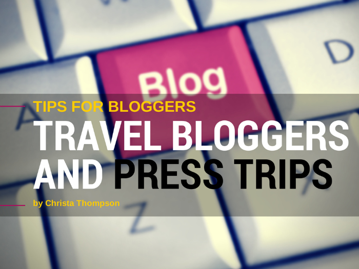 Travel Blog Press Trips