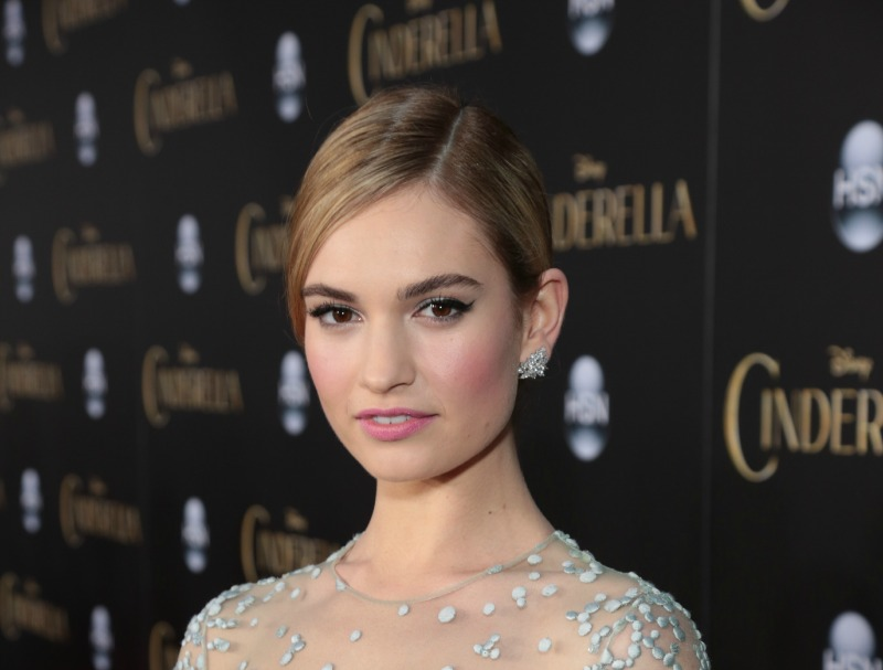 Lily James Cinderella Interview 1