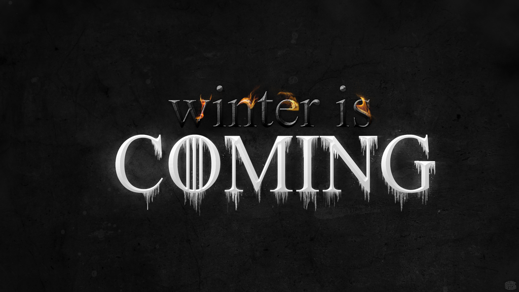 winter is coming   game of thrones by duncanbdewar
