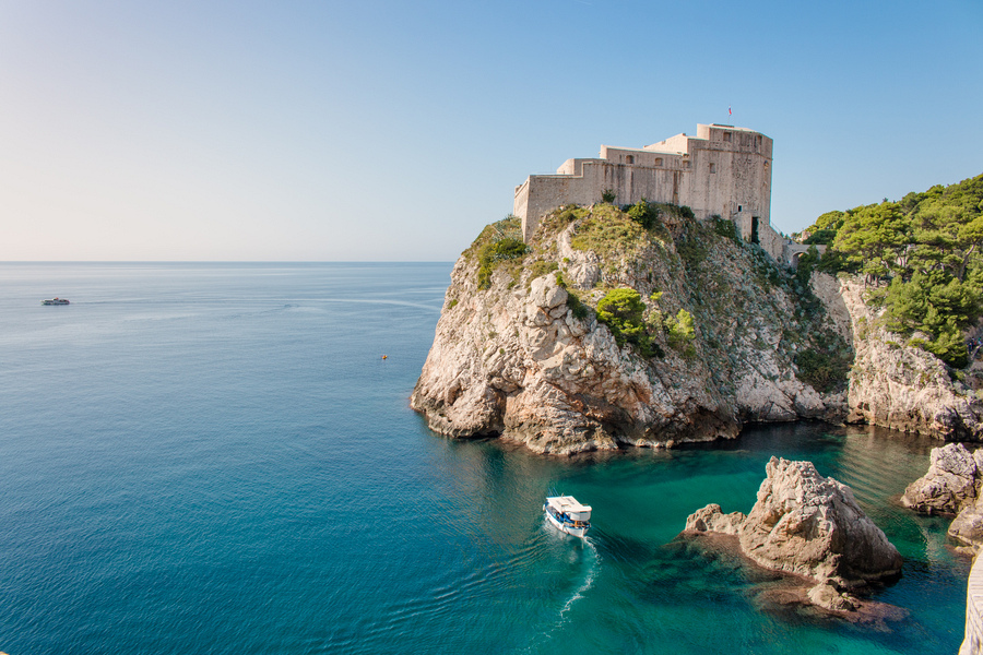 Game of thrones filming locations in Dubrovnik