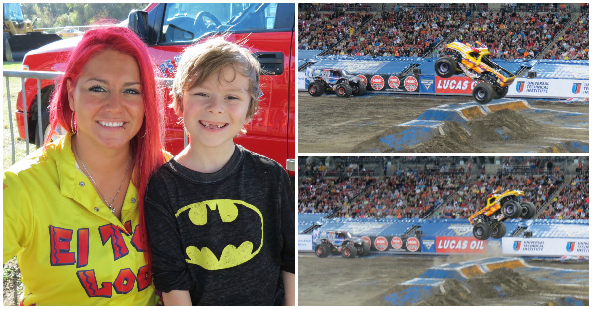 Becky McDonough Kid Friendly El Toro Monster Jam