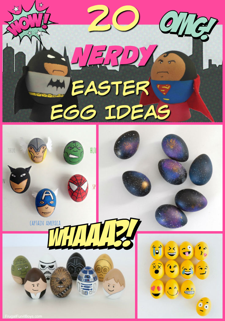 20 Nerdy Easter Egg Ideas for the Nerdy Family |