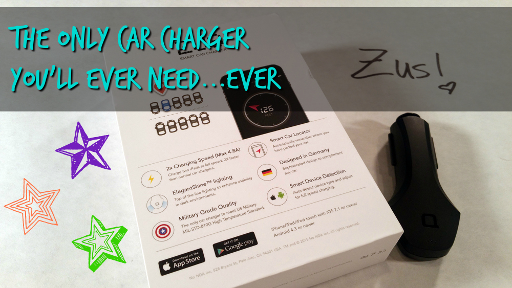 Zus car charger, review
