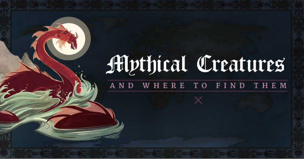 Map of Mythical Creatures