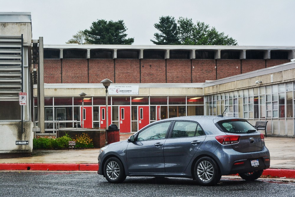 family involvement in students' success, Kia Rio, First Car, 5-Door, Top tech for young drivers