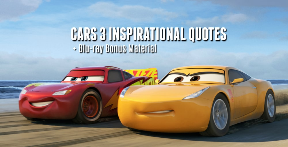 Inspirational Car Quotes Cars 3 Quotes   Inspirational Quotes for All Ages + Blu ray Bonus  Inspirational Car Quotes