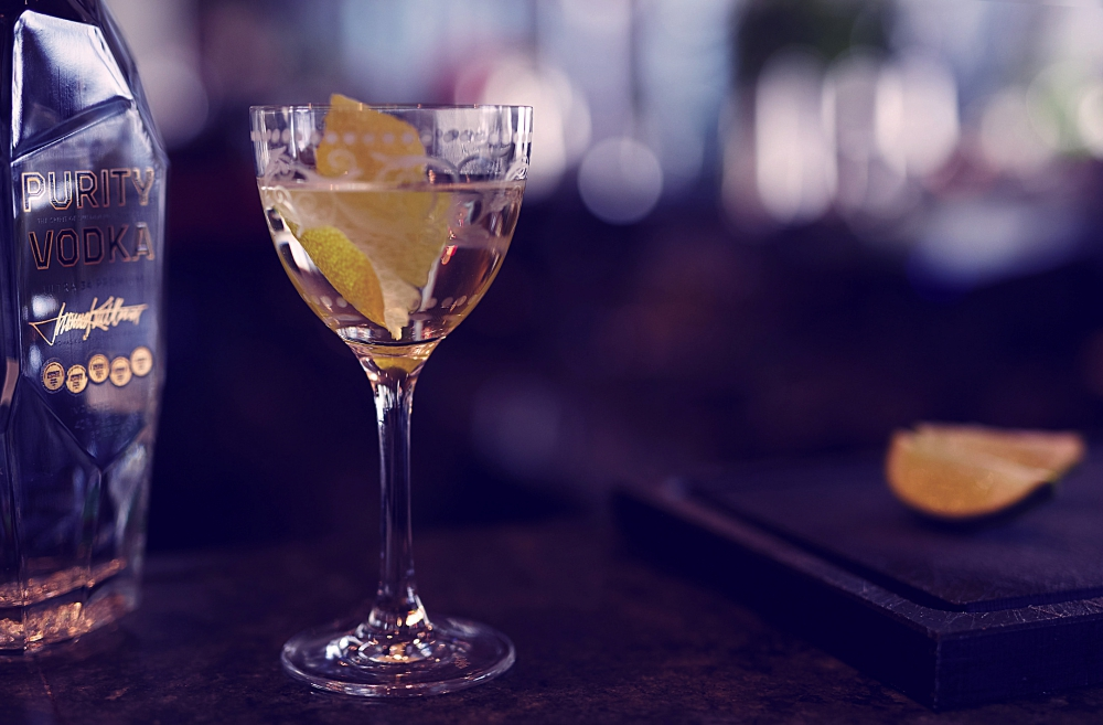 holiday cocktail ideas Purity Vodka Elevated Martini, gambling tips for las vegas