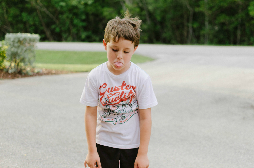 spring streetwear for kids, child trauma
