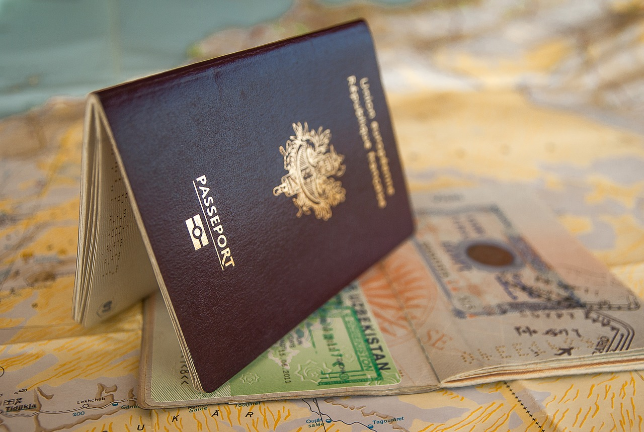 passport, visa, travel documents, Australian travel and work